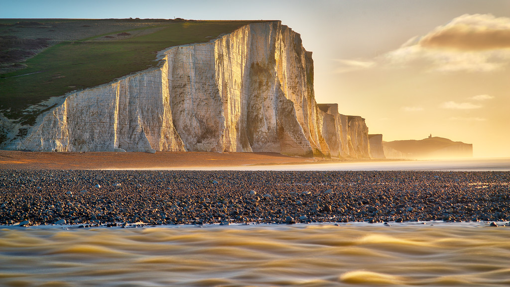 """Seven Sisters Greet Sunrise"""