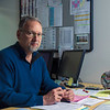 John Chaides / Courier<br /> James Arnwine, the Dean of Performing and Communication Arts, sits in his office at the Center for the Arts at Pasadena City College on Friday, March 9, 2018. Arwine is retiring after 33 years of service for Pasadena.
