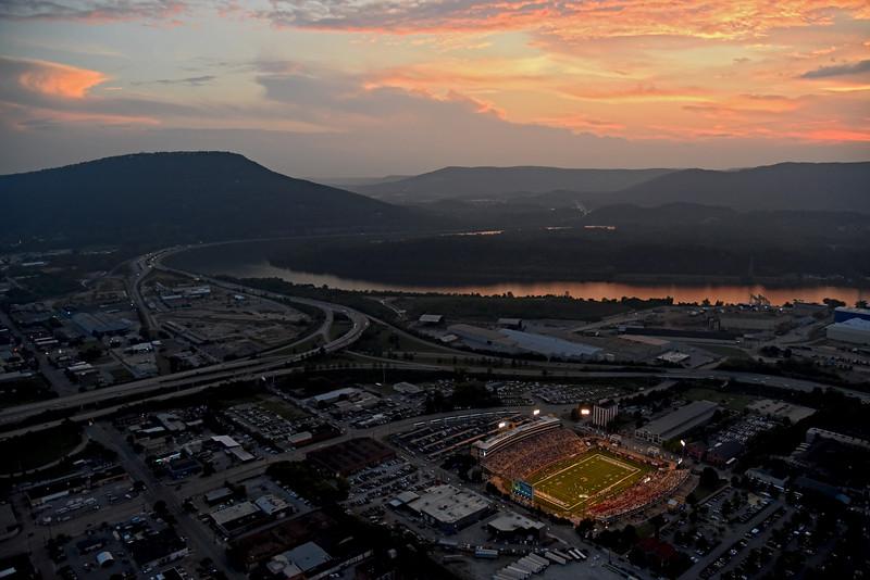 UTC Mocs Football Game, Chattanooga