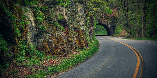 'Through The Smokies' ~ Great Smoky Mountains National Park, TN