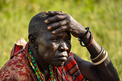 Old woman in Northern Uganda - Kidepo Region