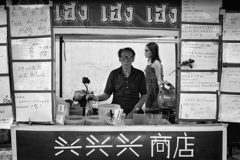Selling Street Food