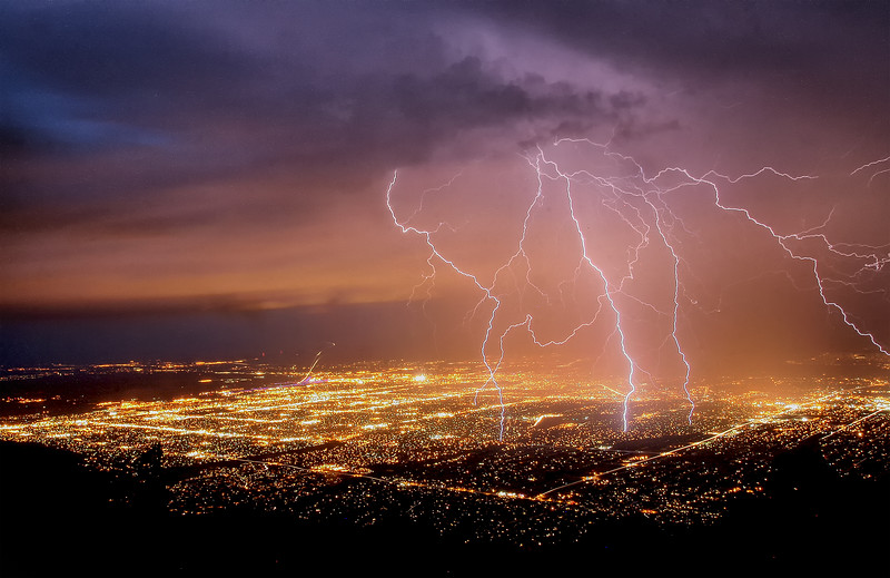 Thunder - Sandia Peak, New Mexico