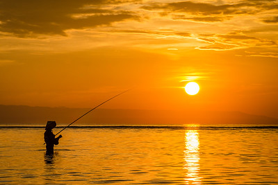"""EARLY BIRD CATCHES THE """"FISH"""", BALI, INDONESIA, 2014"""