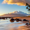 Volcanic Beach Sunset on Maui
