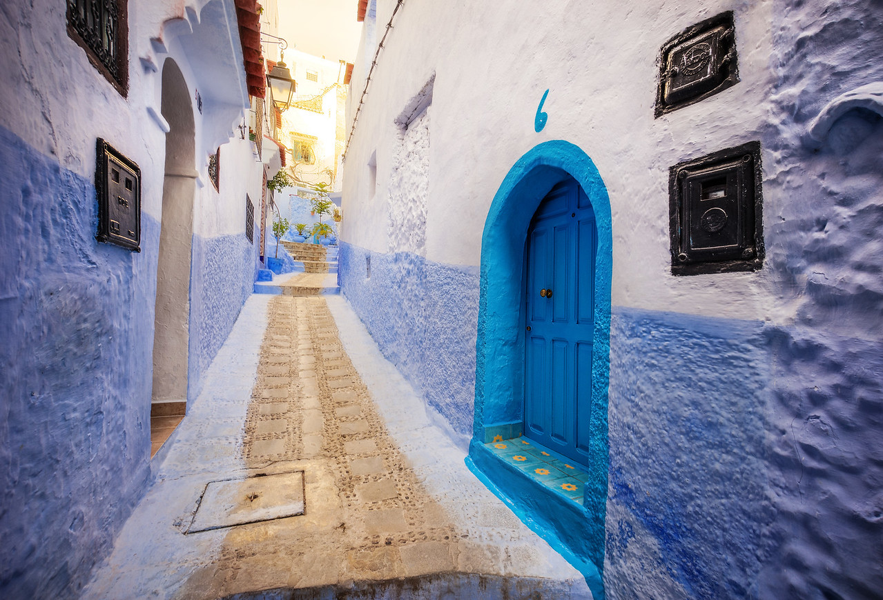 Blue Door Number 6