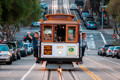 Tram, San Francisco, California, America