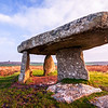 Lanyan Quoit and Engine House, Morvah, Cornwall, England