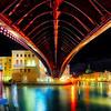 Night Bridge In Venice