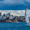 Sailing In The Sydney Harbour