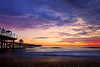 <h1>San Clemete Life</h1> <p>A rare and amazing sunset in San Clemente California.</p>