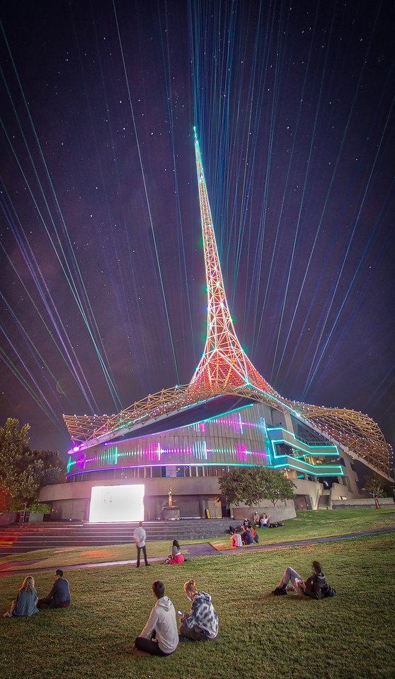 Its got lasers