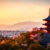 Sunset at Kiyomizu-dera Temple