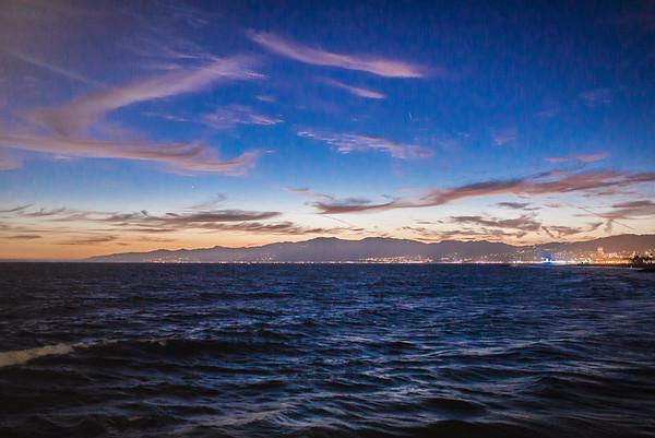Coastline from Venice Pier @ Dusk