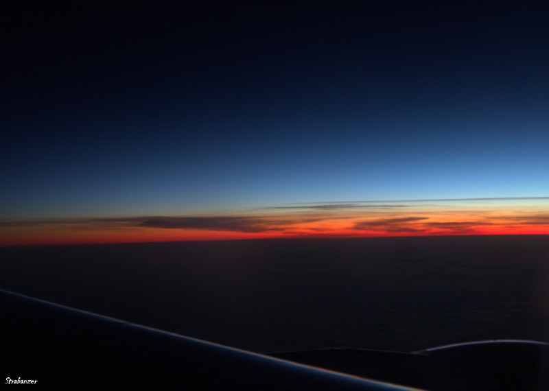 Dawn Over England<br /> From Airbus A330-223 N861NW on DL408<br /> <br /> This work is licensed under a Creative Commons Attribution-<br /> NonCommercial 4.0 International License