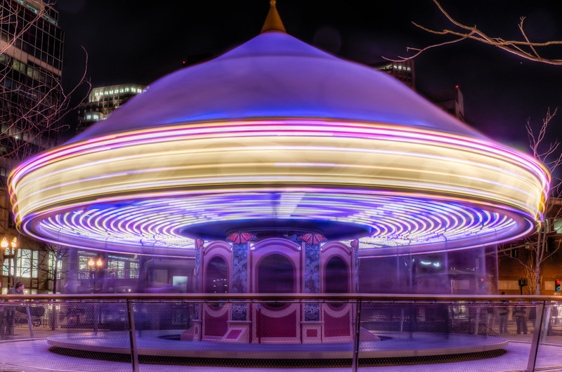 Greenway Carousel In Motion