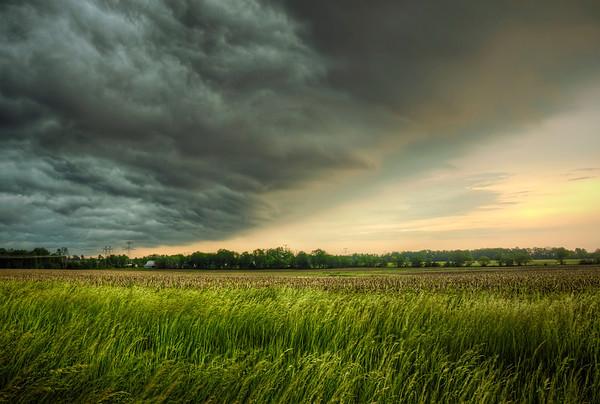 'Menacing Front' ~ Rural Missouri