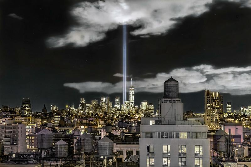 911 Tribute Lights