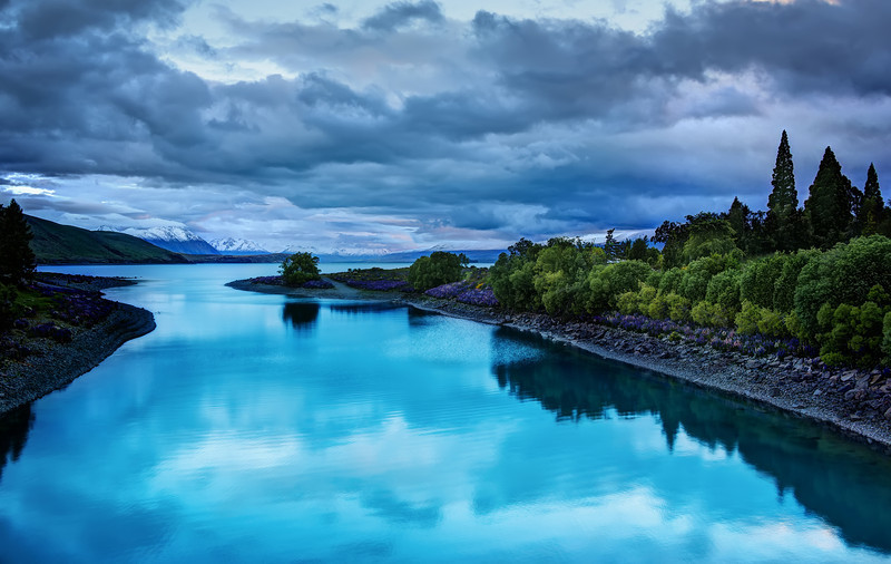 The Blues of Lake Tekapo