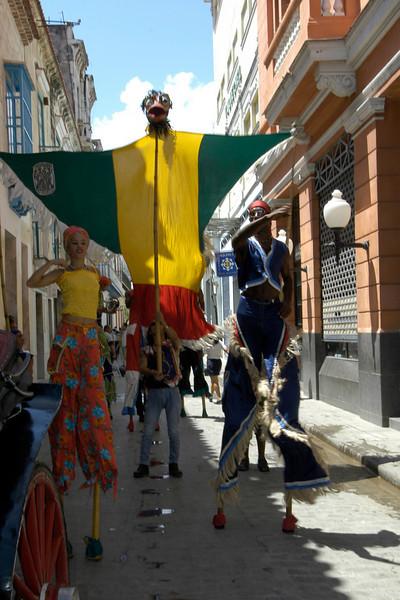 Old Habana Daily Parade