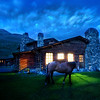 "<h2>An Evening Stroll Around the Cabin</h2> <br/>I've had a wonderful week here in Montana.  I've been lucky enough to be invited to this private conference here in Yellowstone.  We get together and talk about science, art, and Libertarianism...  It's a very cool and interesting collection of people!<br/><br/>A few nights ago, I took a dusk walk around the main cabin.  The horses come graze all around the meadow in the evening... I finally convinced one of them to stand still for a bit.<br/><br/>- Trey Ratcliff<br/><br/><a href=""http://www.stuckincustoms.com/2009/07/04/an-evening-stroll-around-the-cabin/"" rel=""nofollow"">Click here to read the rest of this post at the Stuck in Customs blog.</a>"