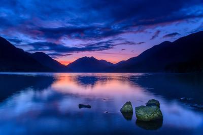 Lake Crescent Blue Hour
