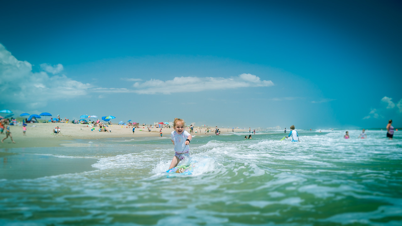 Kennedy on the Boogie Board - May 30