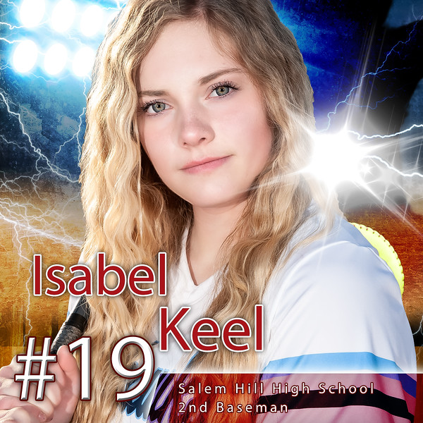 Izzy Keel Sports poster