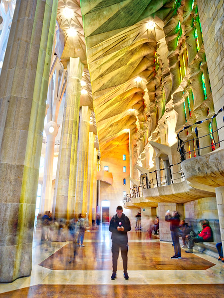 Tane In La Sagrada Familia