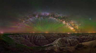 Enchanting Badlands.