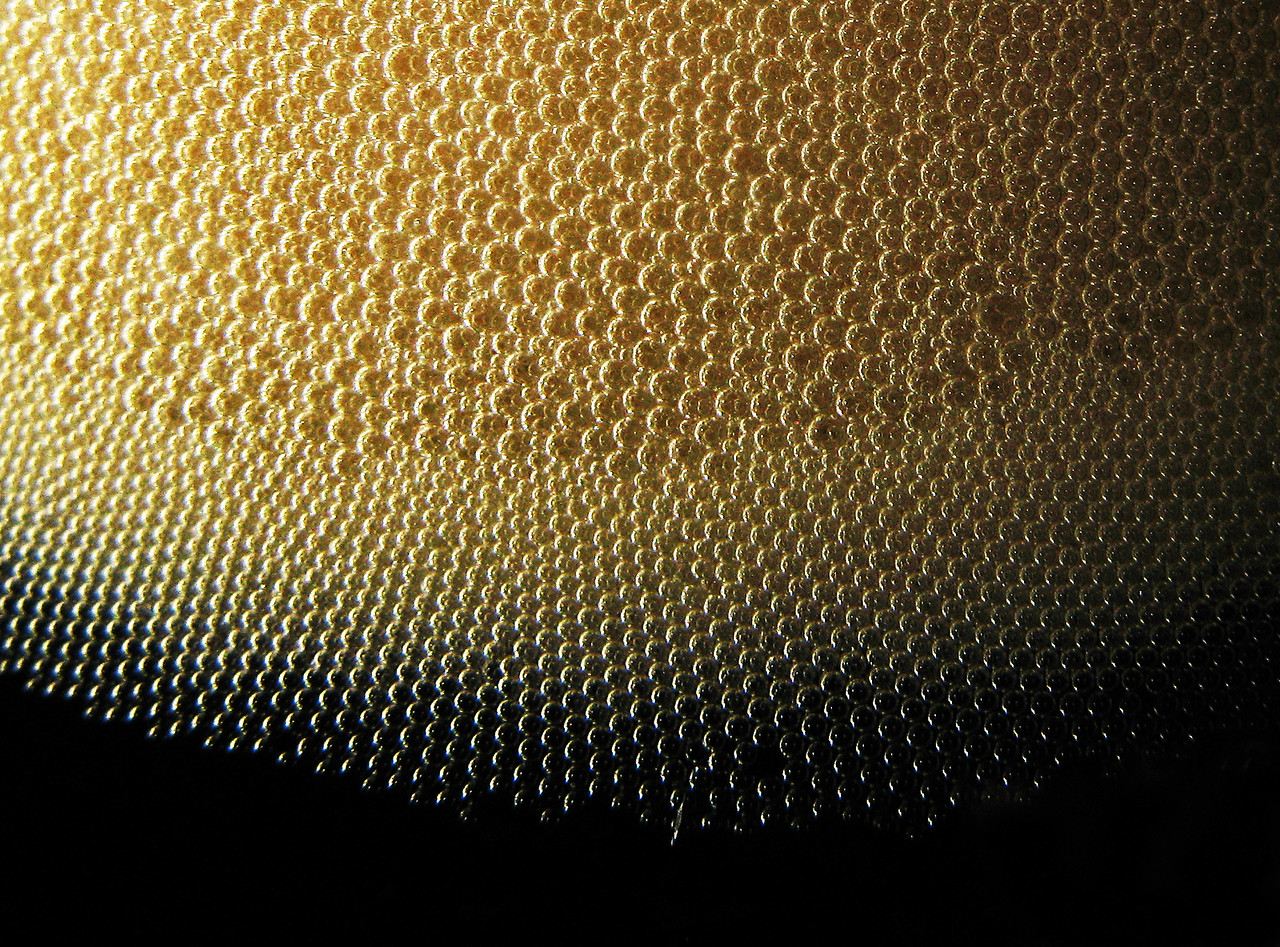 Coke Bubbles Close Up