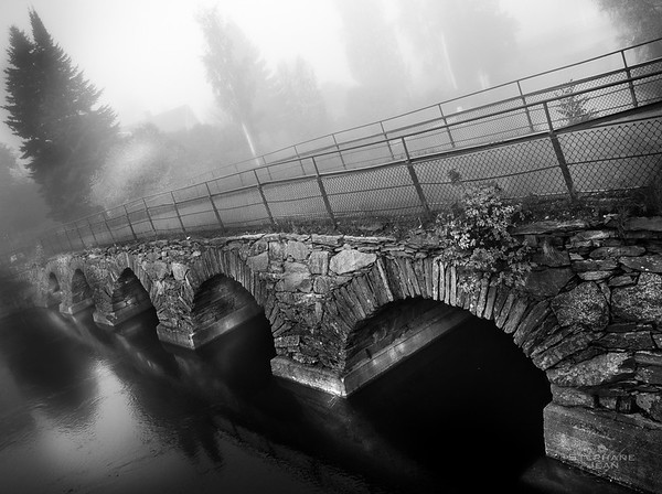 Old stone bridge, Bengtsfors, Sweden
