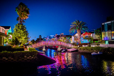 Venice Canals Christmas 2018