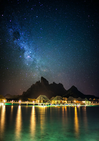 An Amazing Night in Bora Bora