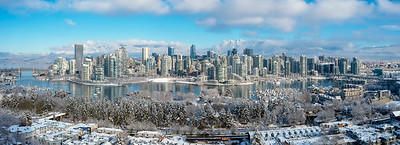 Stunning Snowy Vancouver