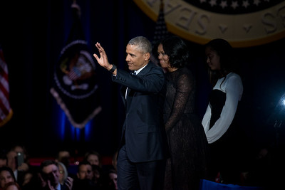 Obama's Farewell Address on January 10, 2017. | Colin Boyle/The Daily Northwestern