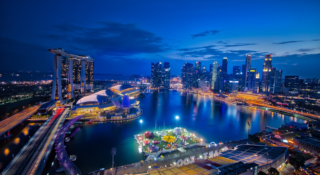 Singapore From Across The Pond