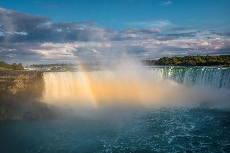 Rainbow Over Horseshoe Falls (Canada)