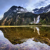 Reflections in Milford Sound