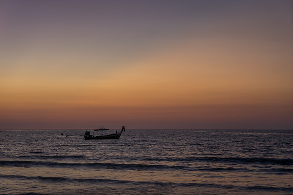 Lone Long-Tail Boat