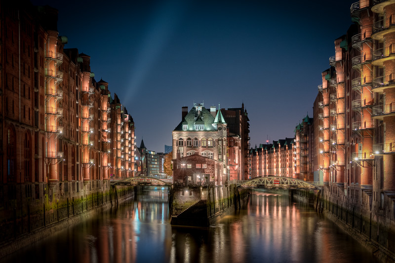 Hamburg House in Canal
