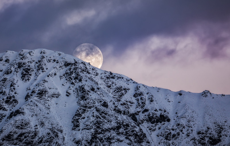 """<h2>Super Moon sets over Queenstown</h2> <br/>So… you've been coming to the blog for, what, six+ years, yes? Well, maybe…hehe… AND, if you've been coming all that time, you might have noticed that I have NEVER posted a photo of the moon. Why is that, you wonder? The main reason is because I've always gotten absolutely terrible moon photos. Until now! I finally got one that I am kinda happy with… I shot this in the morning yesterday when I walked out to my studio.<br/><br/>I saw it setting behind the mountain near my house, so I got out my NEX-7 with the 55-210mm lens and shot away. This is just one exposure… one RAW file. It worked out well because all the light levels were about the same with the pink in the sky and the snow and the white moon behind the purple cloud… <br/><br/>- Trey Ratcliff<br/><br/><a href=""""http://www.stuckincustoms.com/2013/06/26/super-moon/"""" rel=""""nofollow"""">Click here to read the rest of this post at the Stuck in Customs blog.</a>"""