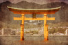 <h1>Itsukushima Shrine</h1> <p>This is near Hiroshima Japan on Miyajima Island. They built the shrine in the water because they believed the island was a god. This was some 400 years ago of course.</h1>