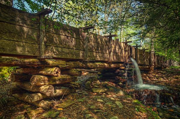 'Cable Mill Falls' ~ Cades Cove, TN