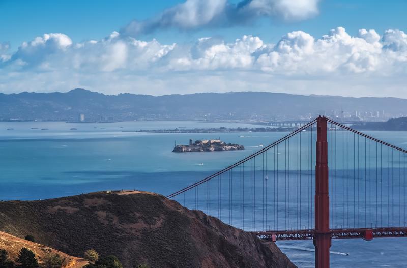 From Marin Headlands to Alcatraz