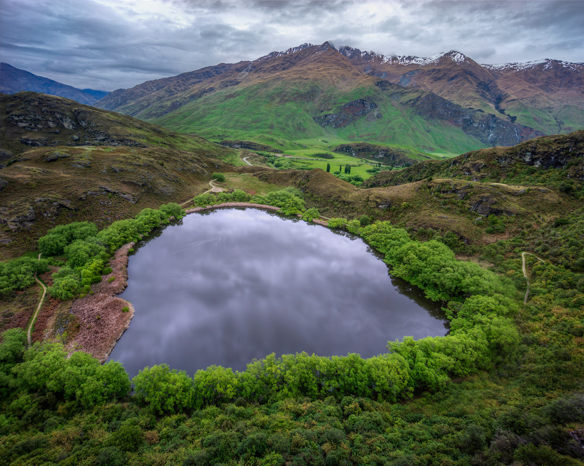 Across the Mirrorportal in Wanaka