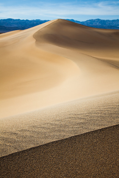 "<h1>Mesquite Dunes - Death Valley</h1><br/> <p>If you haven't been to Death Valley there are about four sets of Sand Dunes. These are the more popular Dunes since they are right of the road. I really wanted to go to the Paramint Dunes since I hear they are the coolest, but it's a three mile hike through raw desert and I didn't have time. This work for me though. A lot of Starwars was also filmed on these vary Dunes.<p><br/> <p>Read more at <a href=""http://alikgriffin.com"">AlikGriffin.com</a></p>"