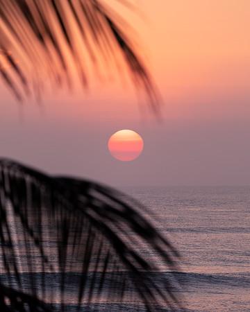 Calming colors at Sunrise