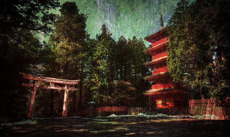 "<h2>Ancient Nikko</h2> <br/>I have a bunch of these textured shots (See my <a href=""http://www.stuckincustoms.com/textures-tutorial/"">Textures Tutorial</a>) that I will be posting over the next few weeks.  I showed this one to Jack this evening when he came over, and he seems to like the look as much as I do!<br/><br/>This is my first shot from Nikko, Japan.  Nikko is famous for all the incredible temples from the Edo period.  I woke up early (violently early, let us say) to go out and visit all the sites before the tourists came.  You guys know I don't like tourists in the shots...  Actually, to tell the truth, I don't like them around at all.  I like to listen to my strange music and roam around these ancient places by myself, stopping to take photos when I am ready.<br/><br/>- Trey Ratcliff<br/><br/><a href=""http://www.stuckincustoms.com/2010/05/02/ancient-nikko/"" rel=""nofollow"">Click here to read the rest of this post at the Stuck in Customs blog.</a>"