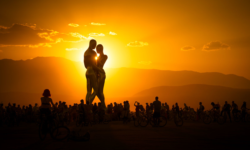 Burning Man Hugs are Best